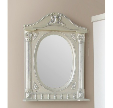 Зеркало Ольвия (Атолл) Napoleon 65 argento