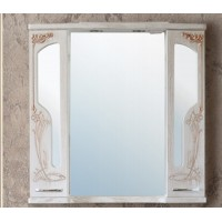 Шкаф зеркальный Ольвия (Атолл) Barcelona 95 rame