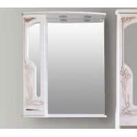 Шкаф зеркальный Ольвия (Атолл) Barcelona 75 rame