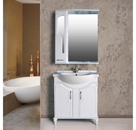 Мебель в ванную комнату Ольвия (Атолл) Barcelona 75 lusido (комплект)