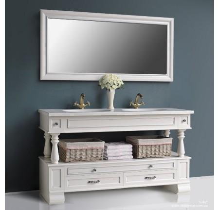 Мебель в ванную комнату Ольвия (Атолл) Julia 150 ivori (комплект)