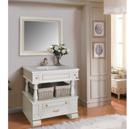 Мебель в ванную комнату Ольвия (Атолл) Julia 90 dorato (комплект)