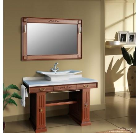Мебель в ванную комнату Ольвия (Атолл) Prague scuro (комплект)