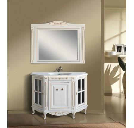 Мебель в ванную комнату Ольвия (Атолл) Verona 120 Dorato (комплект)