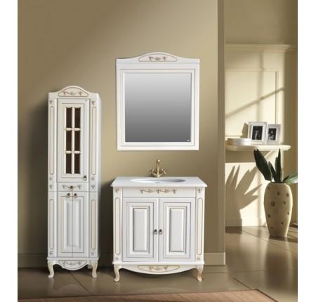 Мебель в ванную комнату Ольвия (Атолл) Verona 85 Dorato (комплект)