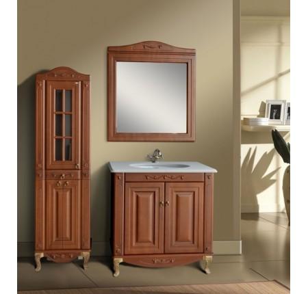 Мебель в ванную комнату Ольвия (Атолл) Verona 85 scuro (комплект)