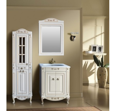 Мебель в ванную комнату Ольвия (Атолл) Verona 65 Dorato (комплект)