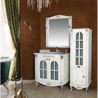 Мебель в ванную комнату Ольвия (Атолл) Venecia 90 bianko (комплект)