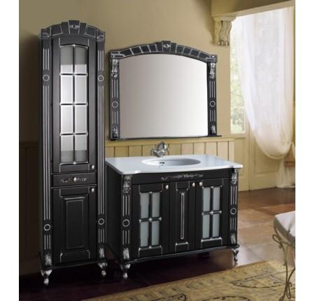 Мебель в ванную комнату Ольвия (Атолл) Alexandria 100 black (комплект)