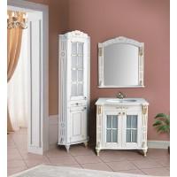Мебель в ванную комнату Ольвия (Атолл) Alexandria 85 dorato (комплект)