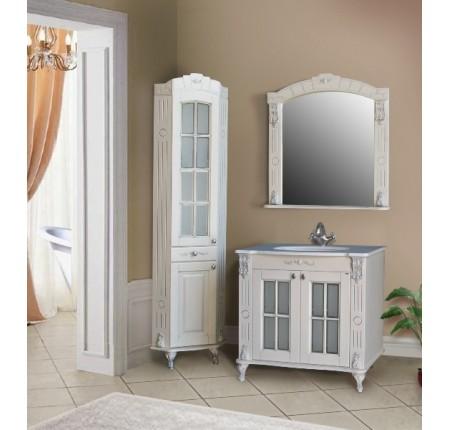 Мебель в ванную комнату Ольвия (Атолл) Alexandria 85 ivory (комплект)