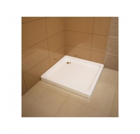 Душевой поддон Koller Pool Flat Kvadro 900x900 квадратный