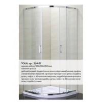 Душевая кабина Eger Tokai 599-07/1 90x90x190 (стёкла+двери)