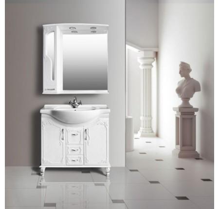Мебель в ванную комнату Ольвия (Атолл) Barcelona 85 lucido (комплект)