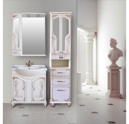 Мебель в ванную комнату Ольвия (Атолл) Barcelona 75 rame (комплект)