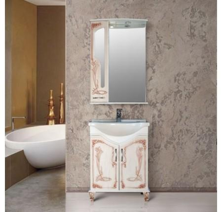 Мебель в ванную комнату Ольвия (Атолл) Barcelona 65 rame (комплект)