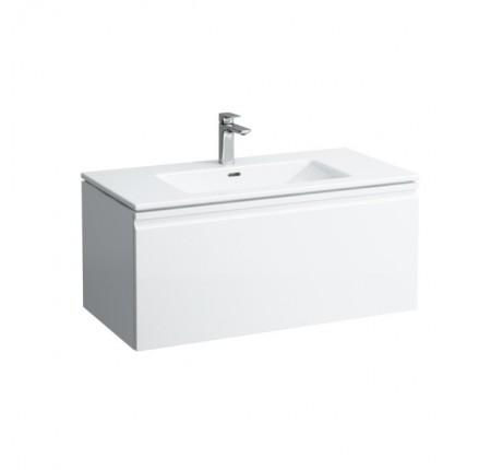Набор мебели Laufen Pro S тумба с умывальником H8609654751041 100х50 белый глянец