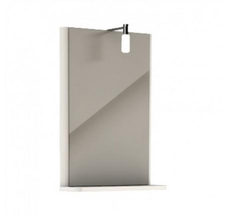 Зеркало Kolo Rekord 88418, белый глянец 44.3х60.5 см