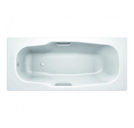 Ванна стальная Koller Pool Atlantica 180х80 3,5 мм, anti-slip, без ручек