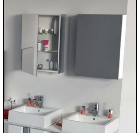 Шкафчик с зеркалом Kolo Twins 88457, 60см