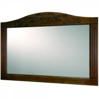 Зеркало Devit Sheffield 5110133CH, 80см вишня