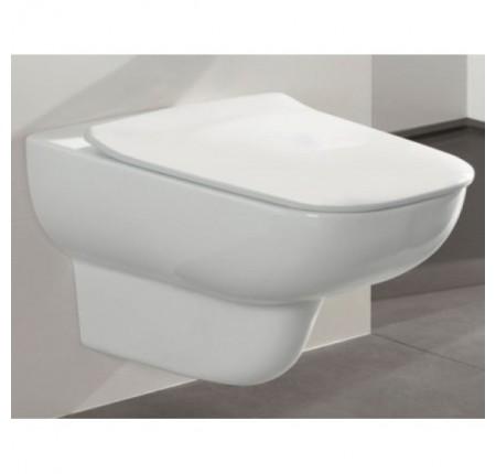 Унитаз подвесной Villeroy&Boch Joyce Direct Flush Slimseat Soft Clousing 5607R001 сиденье soft close