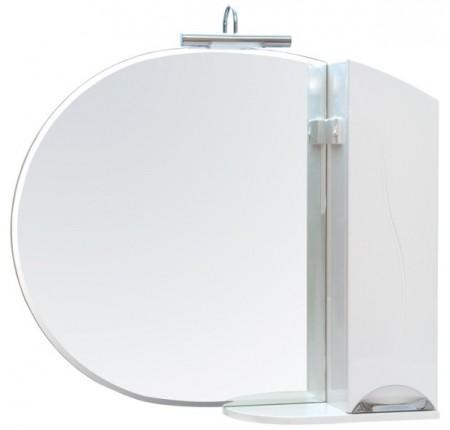 Зеркало Аква Родос Глория 105 см с пеналом L/R (без подсветки)
