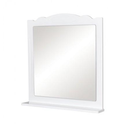 Зеркало Аква Родос Классик 80 см, с полкой