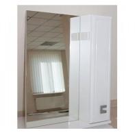 Зеркало Аква Родос Мобис 65 см, с пеналом справа