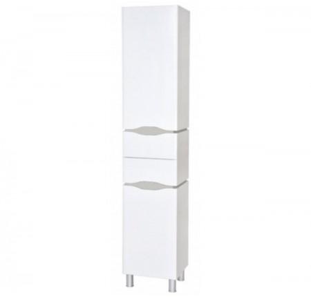 Пенал Аква Родос Венеция 40 см правый с корзиной для белья, белый цвет
