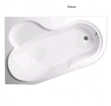 Ванна асимметричная Vagnerplast Selena 147x100 L/R VPBA141SEL3LE-01/NO