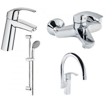 Набор для ванной комнаты Grohe Eurosmart 123248 МК