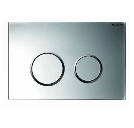 Кнопка смыва Geberit Sigma 20 115.882.KN.1 хром глянец-хром матовая