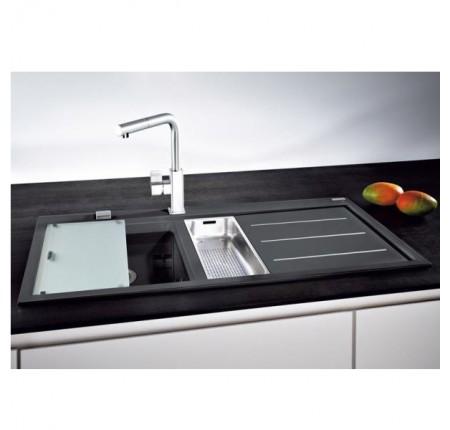 Мойка для кухни Franke Mythos Fusion MTF 651-100 114.0156.992 оникс правая