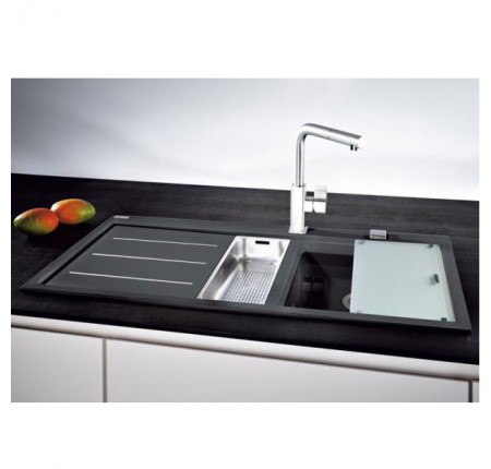 Мойка для кухни Franke Mythos Fusion MTF 651-100 114.0156.981 оникс левая
