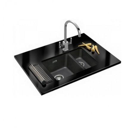 Мойка для кухни Franke Kubus KBG 160 125.0072.749 графит