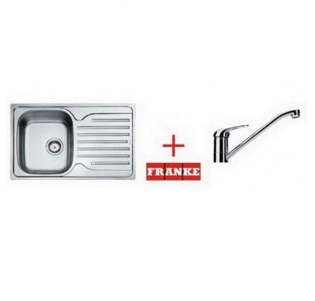 Мойка для кухни Franke Polar PXL 611-78 101.0265.029 + смеситель Narew 35