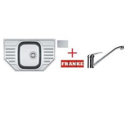 Мойка для кухни Franke Polar PXL 612 E 101.0265.031 + смеситель Narew 35