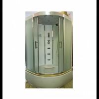Гидромассажный бокс Atlantis AKL1325P 80x80x215 черный / белый