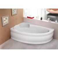 Ванна асимметричная Bliss Belina 170x110 левая (на каркасе+панель)