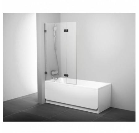 Шторка для ванны Ravak BVS2-100 L хром transparent (7ULA0A00Z1)
