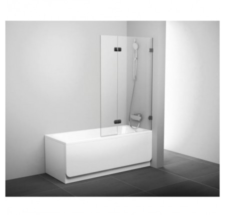 Шторка для ванны Ravak BVS2-100 R хром transparent (7UPA0A00Z1)