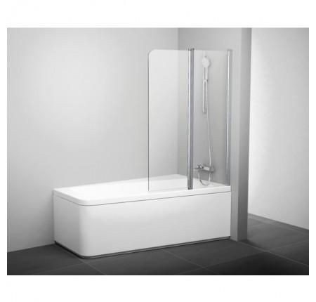 Шторка для ванны Ravak 10CVS2-100 L/R белый transparent