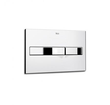 Кнопка смыва Roca PRO PL2 Dual A890096001 хром