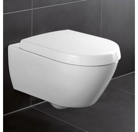 Унитаз подвесной Villeroy&Boch Avento Direct Flush 5656HR01 сиденье soft close