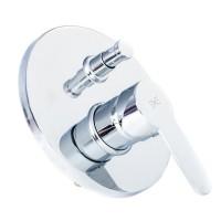 Смеситель скрытого монтажа для ванны Invena Roland Exe BP-92-P01