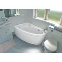 Ванна асимметричная Bliss Milena 170x110 левая (на каркасе+панель)