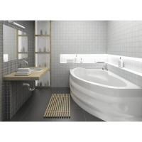 Ванна асимметричная Bliss Alpina 170x110 левая (на каркасе+панель)