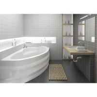 Ванна асимметричная Bliss Alpina 150x100 правая (на каркасе+панель)