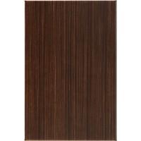 Плитка настенная InterCerama Venge темно-коричневая 012 23х35 (м.кв)